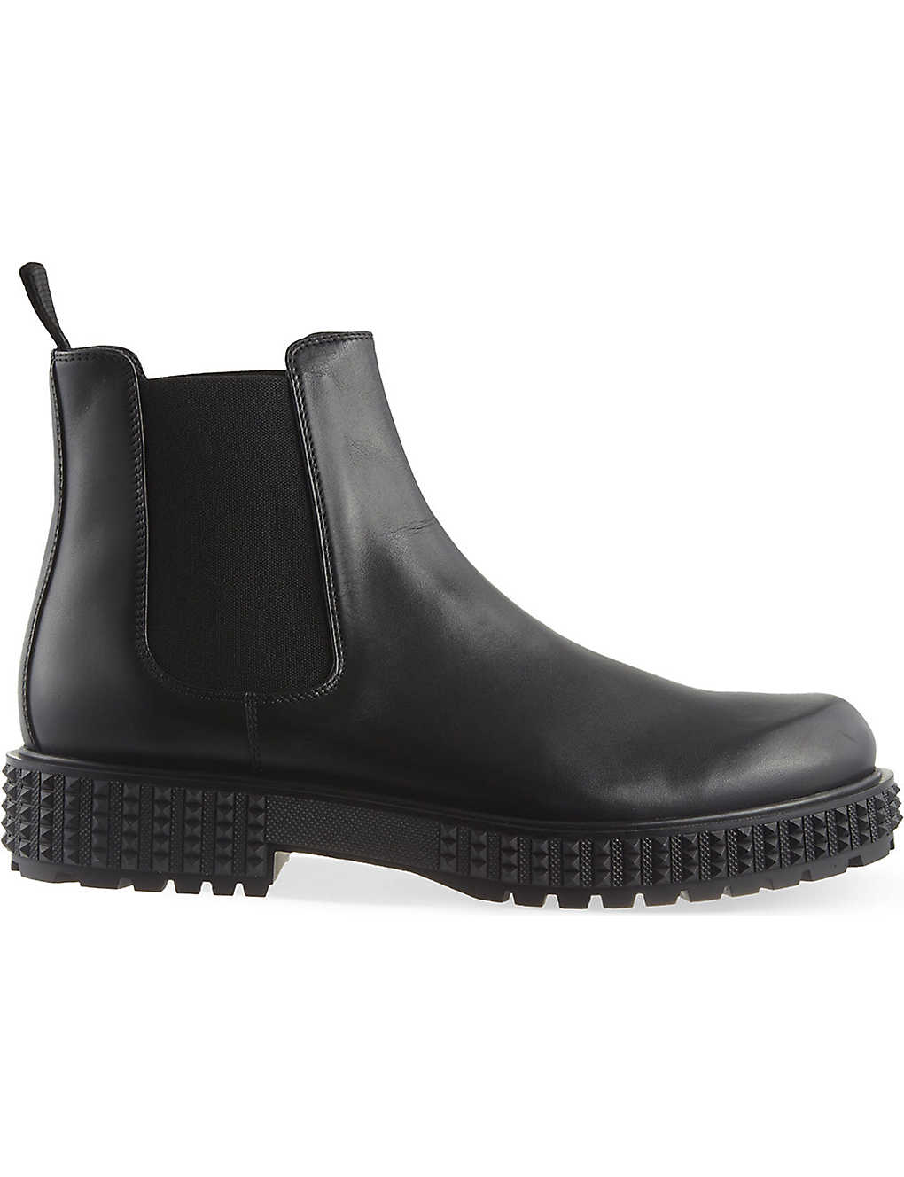 701a8f02ebb05 VALENTINO - Punky-ch Beatle leather Chelsea boots