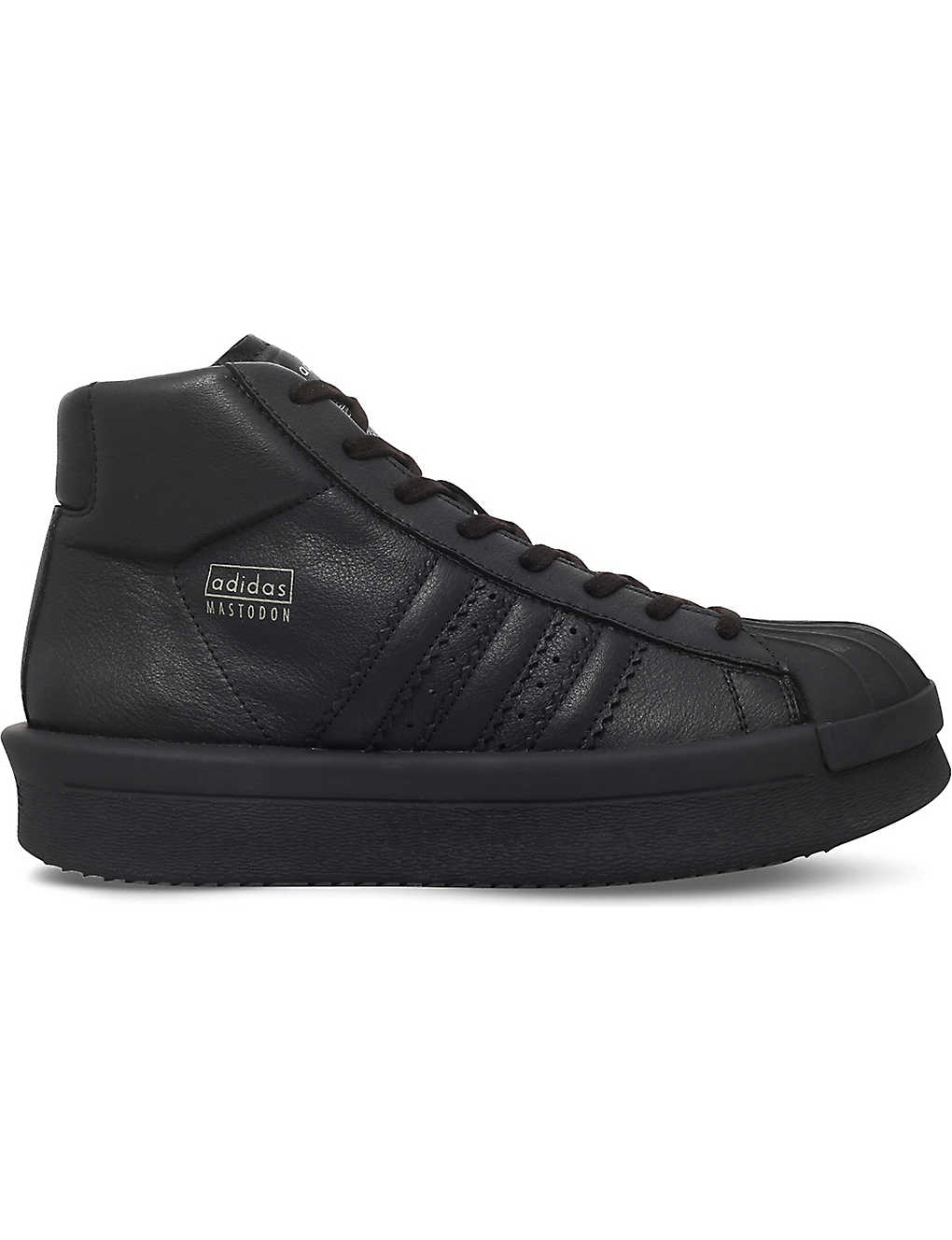 df144d6ff288 RICK OWENS - Adidas x Rick Owens Mastodon Pro Model leather sneakers ...