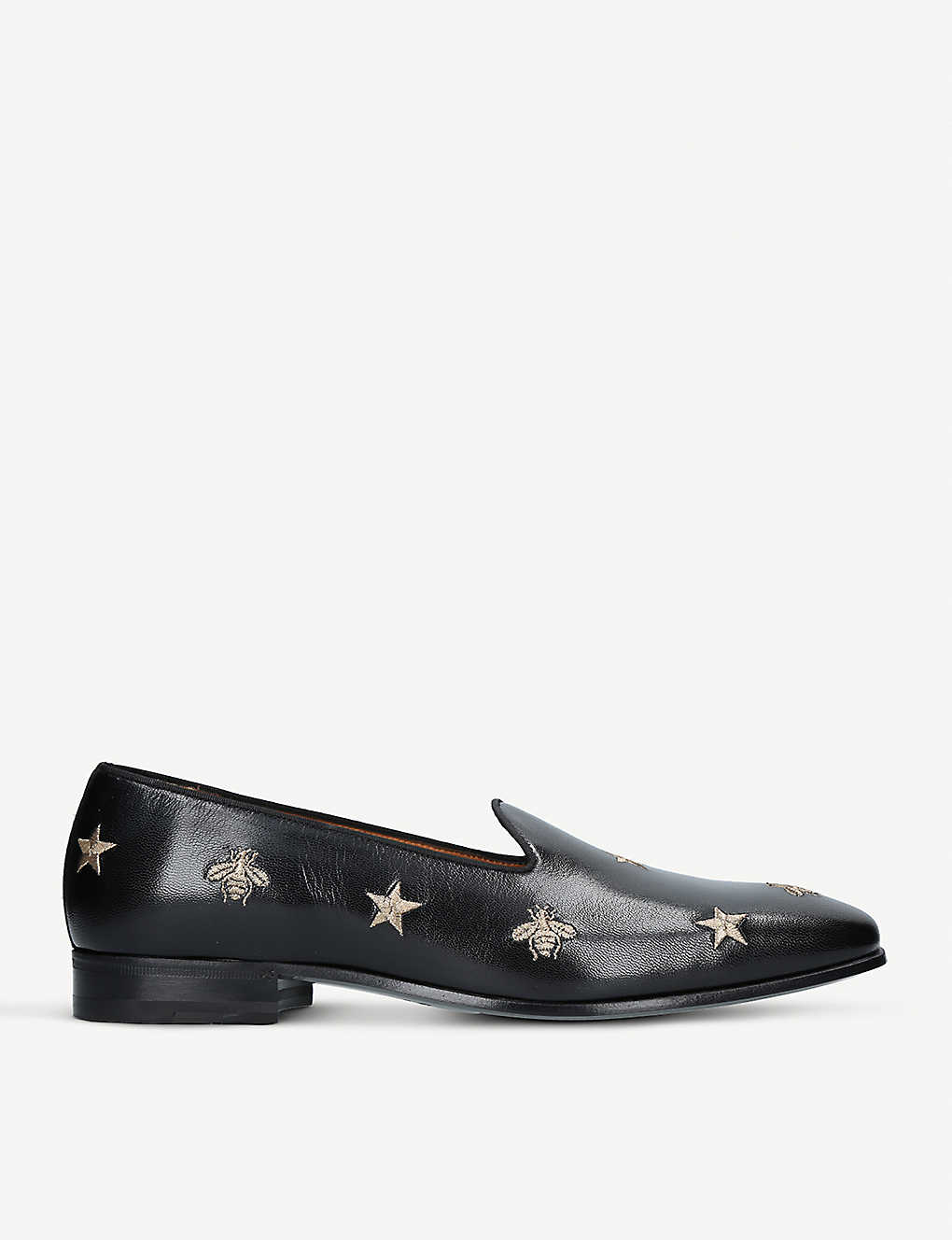 c75bd77b7e5 GUCCI - Gallipoli bee leather loafers