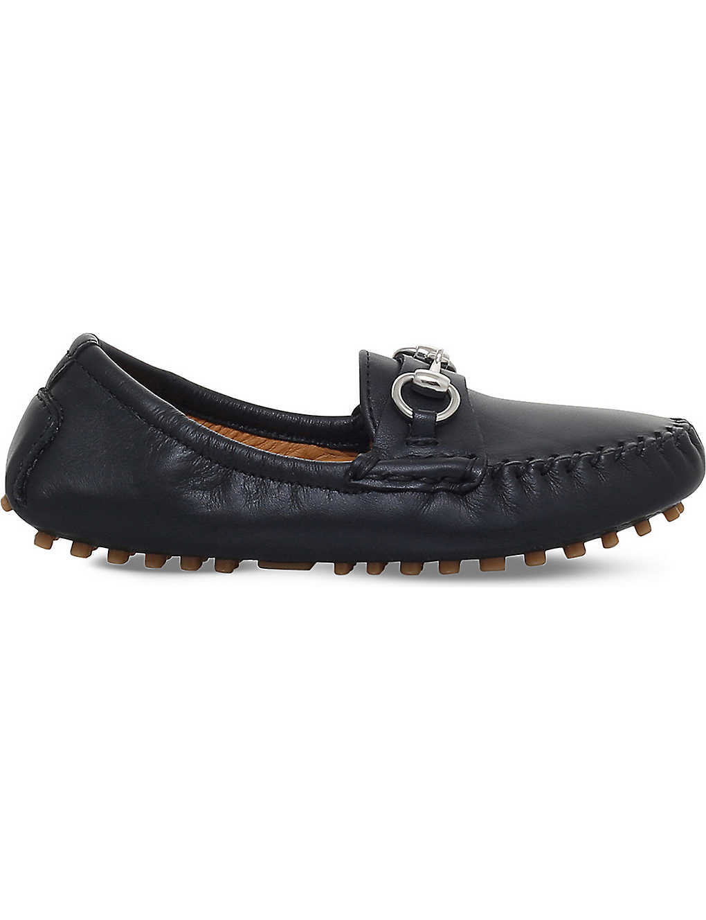 249c9111169 GUCCI - Road leather loafers 3-5 years