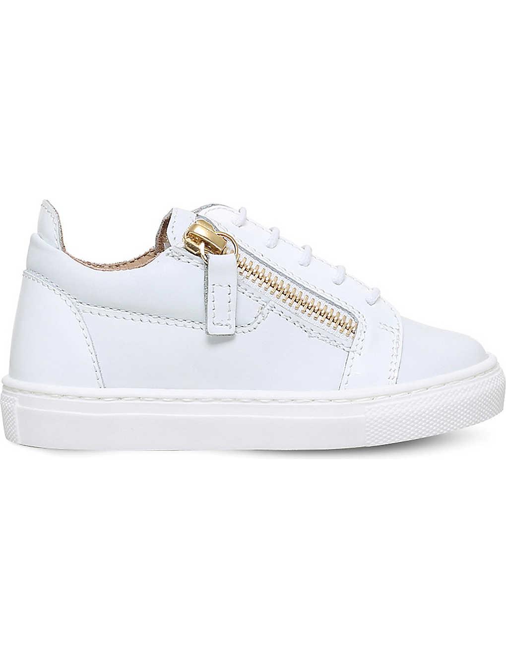 95d8fe35dbb4 GIUSEPPE ZANOTTI - Frankie junior leather sneakers
