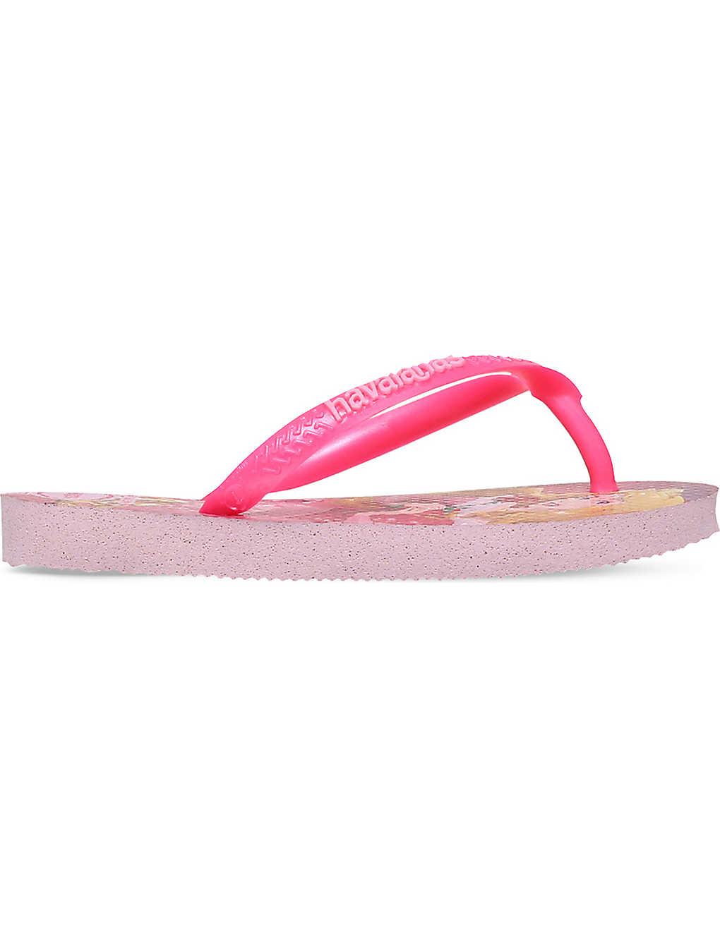 807299b19 HAVAIANAS - Kids slim princess rubber flip-flops 3-9 years ...