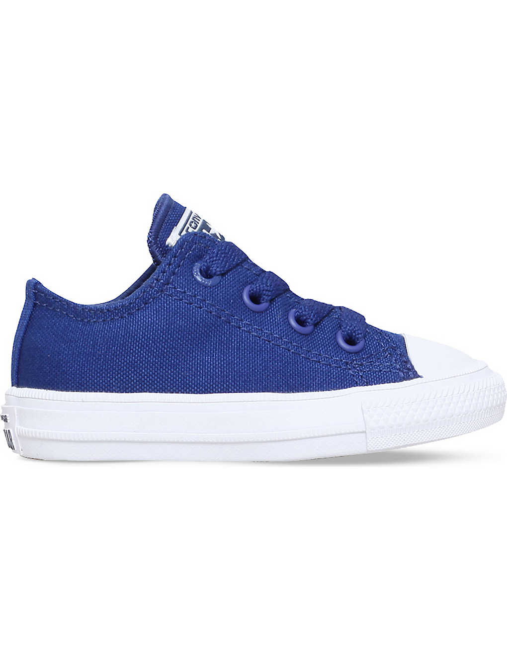 98a28702518070 CONVERSE - Chuck taylor all star ii low-top canvas trainers 2-4 ...
