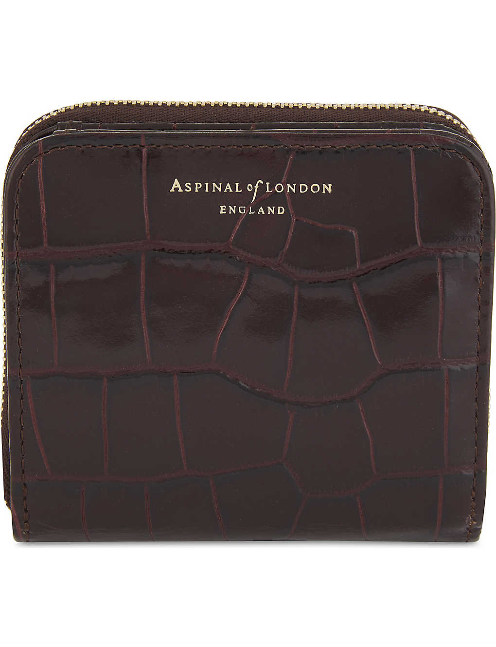 578d8f088355 ASPINAL OF LONDON - Mini continental leather purse