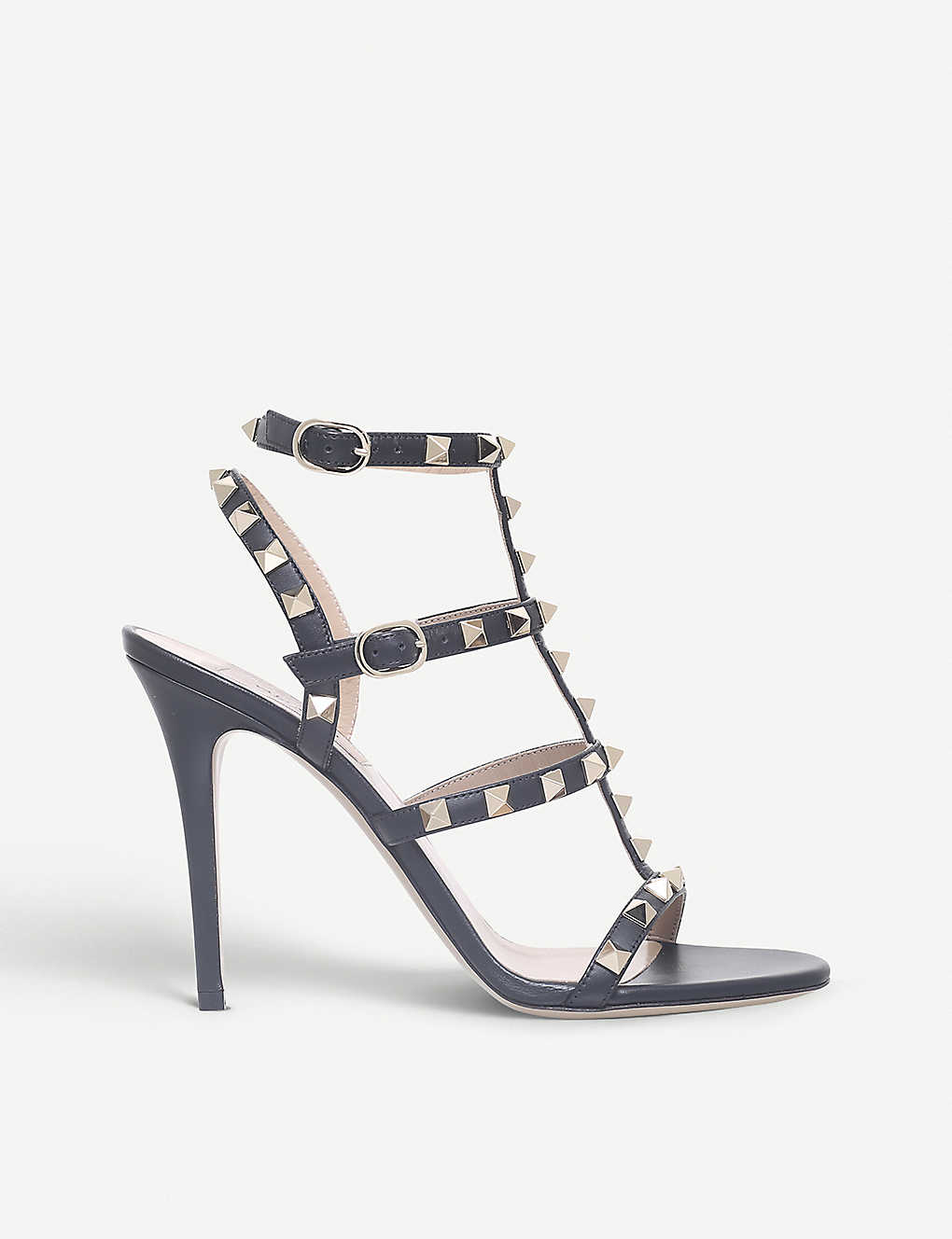 8f42838341c VALENTINO - Rockstud 105 studded leather sandals