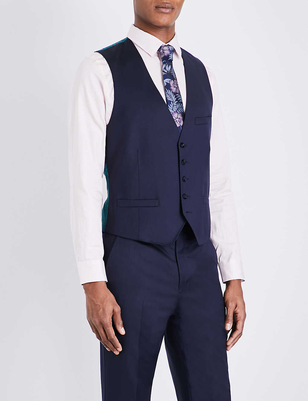 0431e0b65a339d TED BAKER - Raisew Debonair wool vest