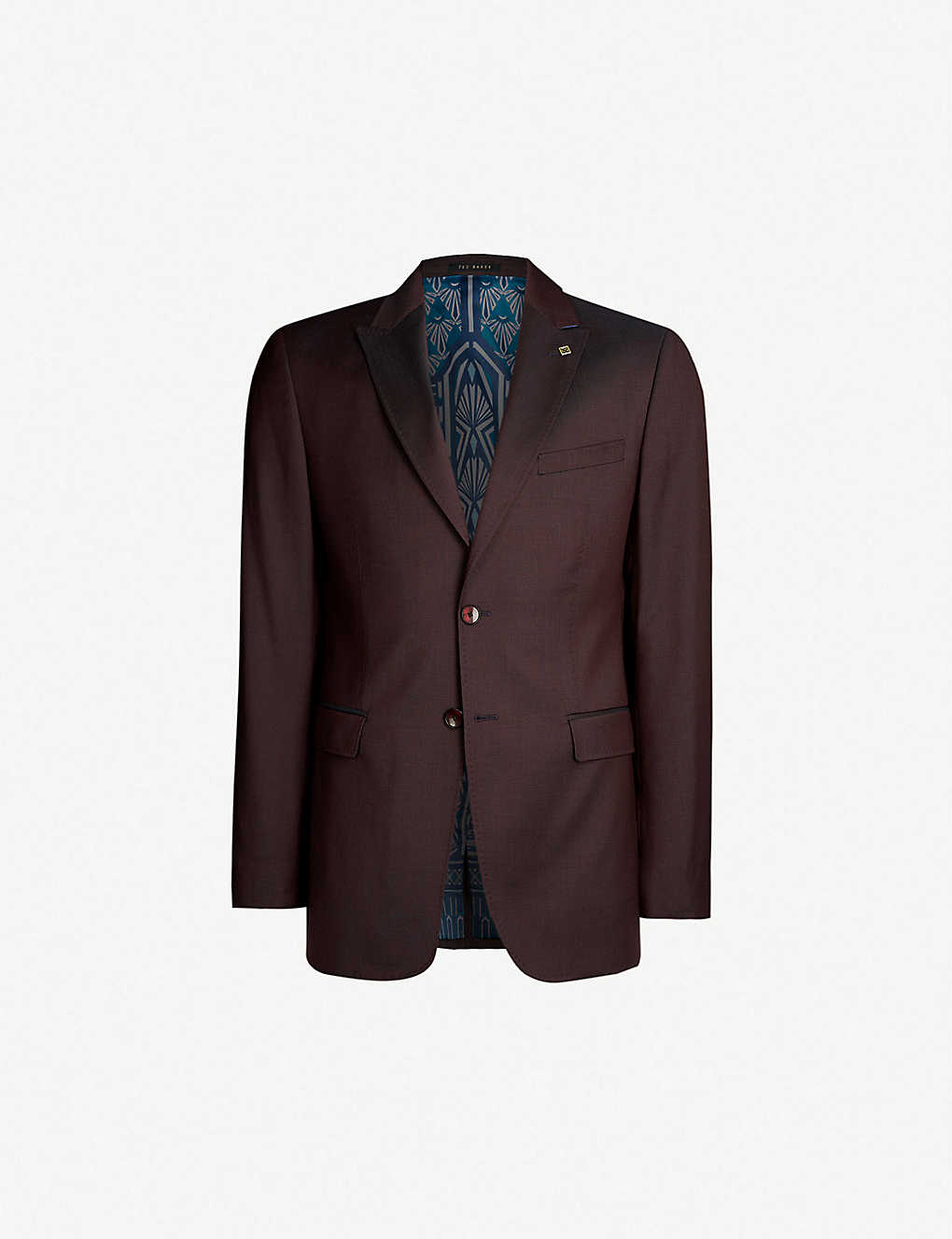 bb183d315 TED BAKER - Kubratj modern-fit wool blazer
