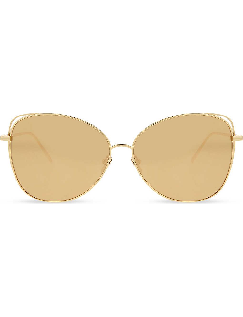 0e64bbb51a8e LINDA FARROW - Lfl566 cat-eye sunglasses