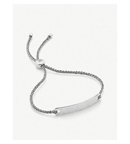 ef3a49ee6 MONICA VINADER - Havana Mini sterling silver friendship bracelet ...