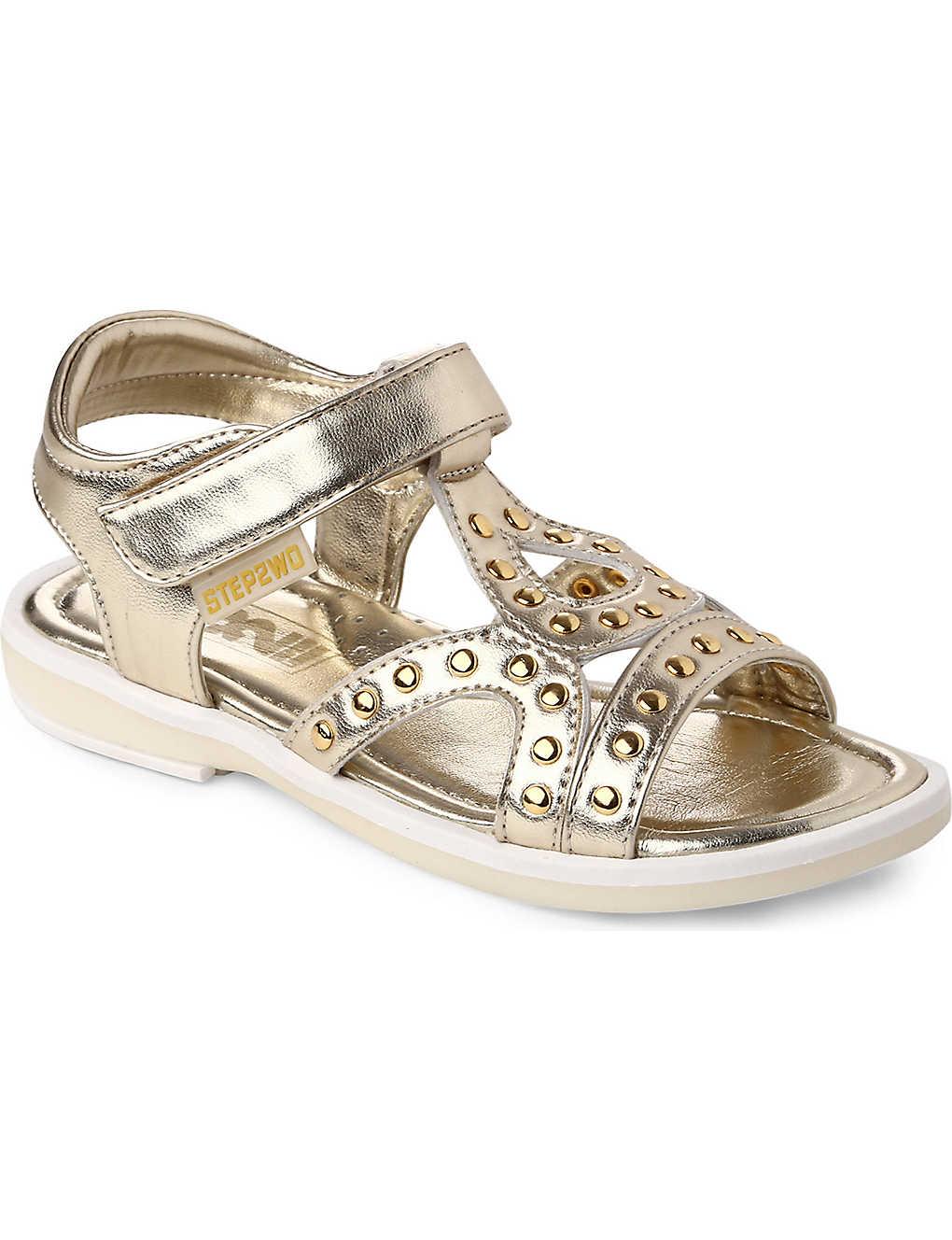 8b20b8b3cdc3 STEP2WO - Jackie gladiator sandals 4-8 years