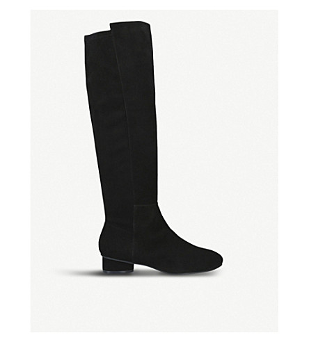 1881f798cf7 ... STUART WEITZMAN Eloise 30 suede knee-high boots (Black. PreviousNext