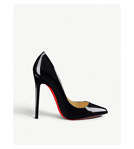 ... CHRISTIAN LOUBOUTIN Pigalle 120 patent calf (Black. PreviousNext 65040673a