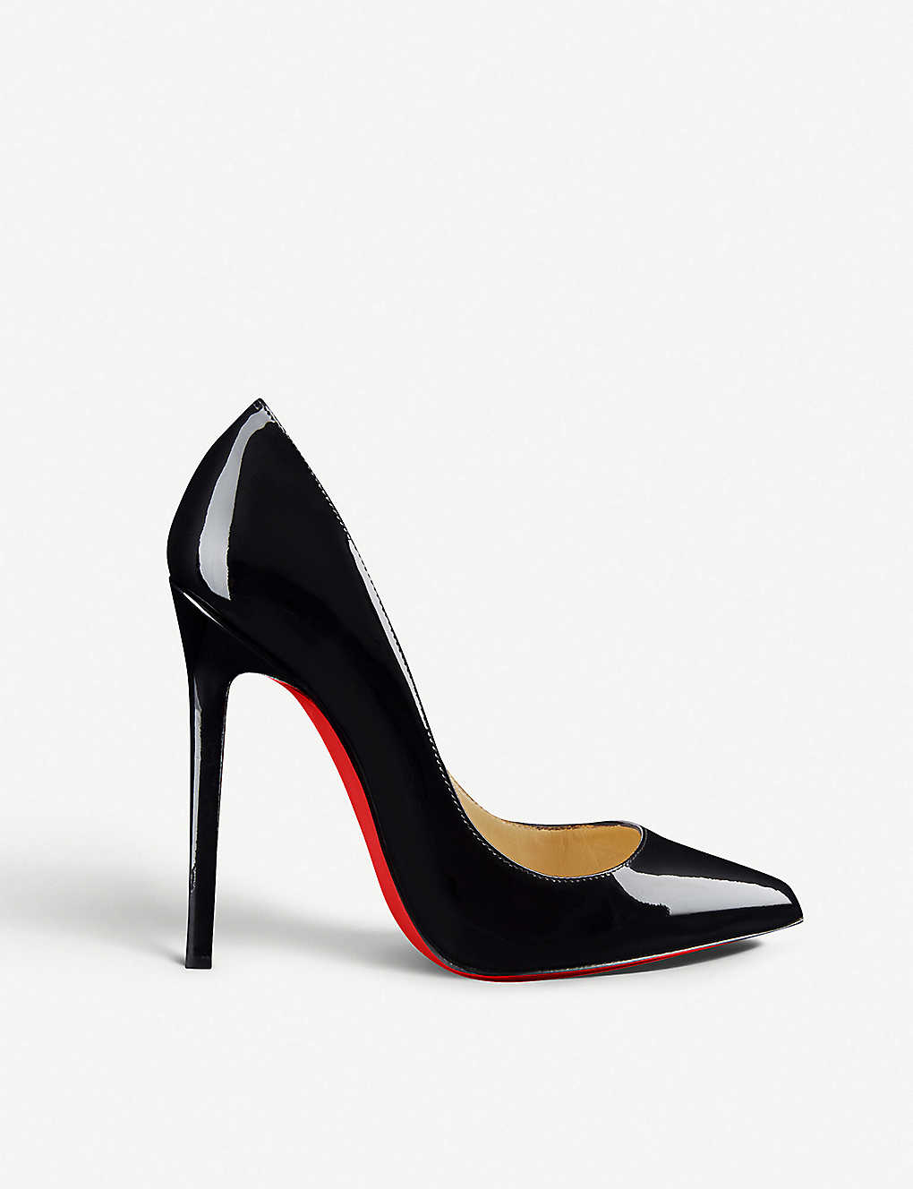 CHRISTIAN LOUBOUTIN - Pigalle 120 patent calf  0b259d4f6