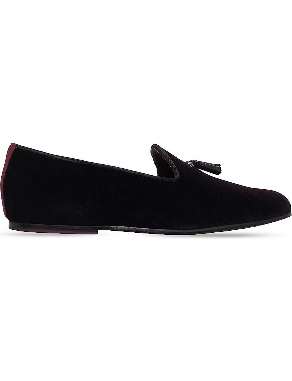 1f60819dd7e69 TED BAKER - Thrysa velvet loafers