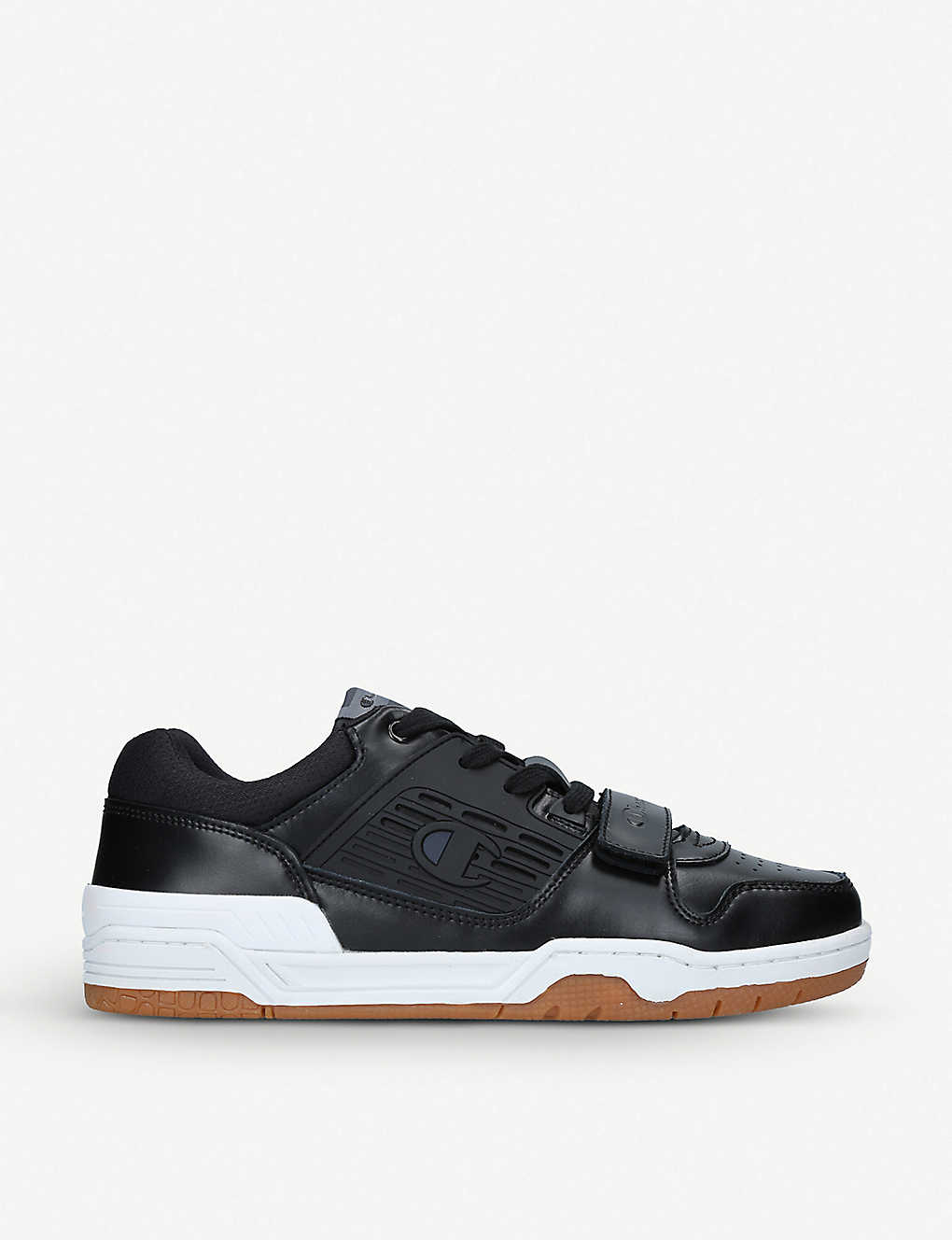 2afadf5729882 CHAMPION - 3 on 3 leather low-top trainers