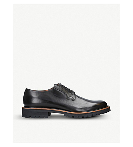 b5b85074dae ... DRIES VAN NOTEN Leather Derby shoes (Black. PreviousNext