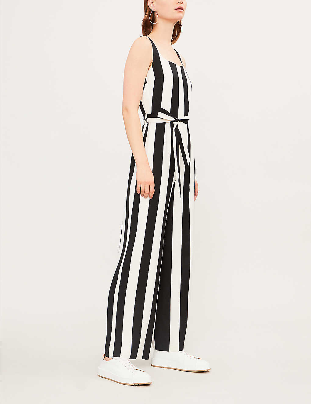 a890b1219ebe TOPSHOP - Striped woven jumpsuit