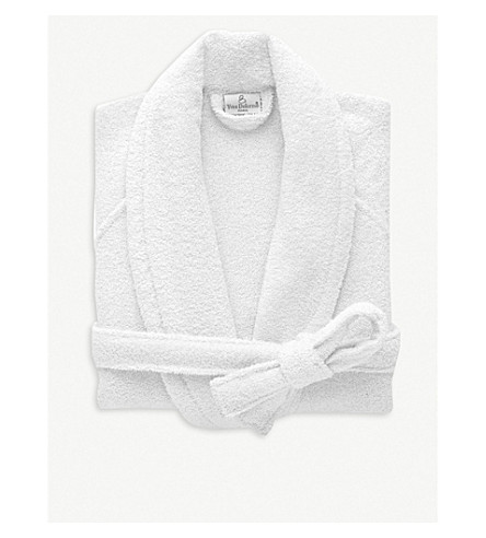 YVES DELORME Etoile cotton-blend robe (Blanc 1cad09e38
