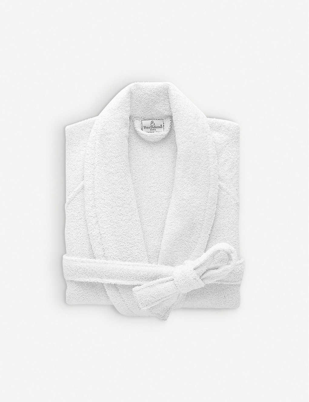 b628c2d996 YVES DELORME - Etoile cotton-blend robe