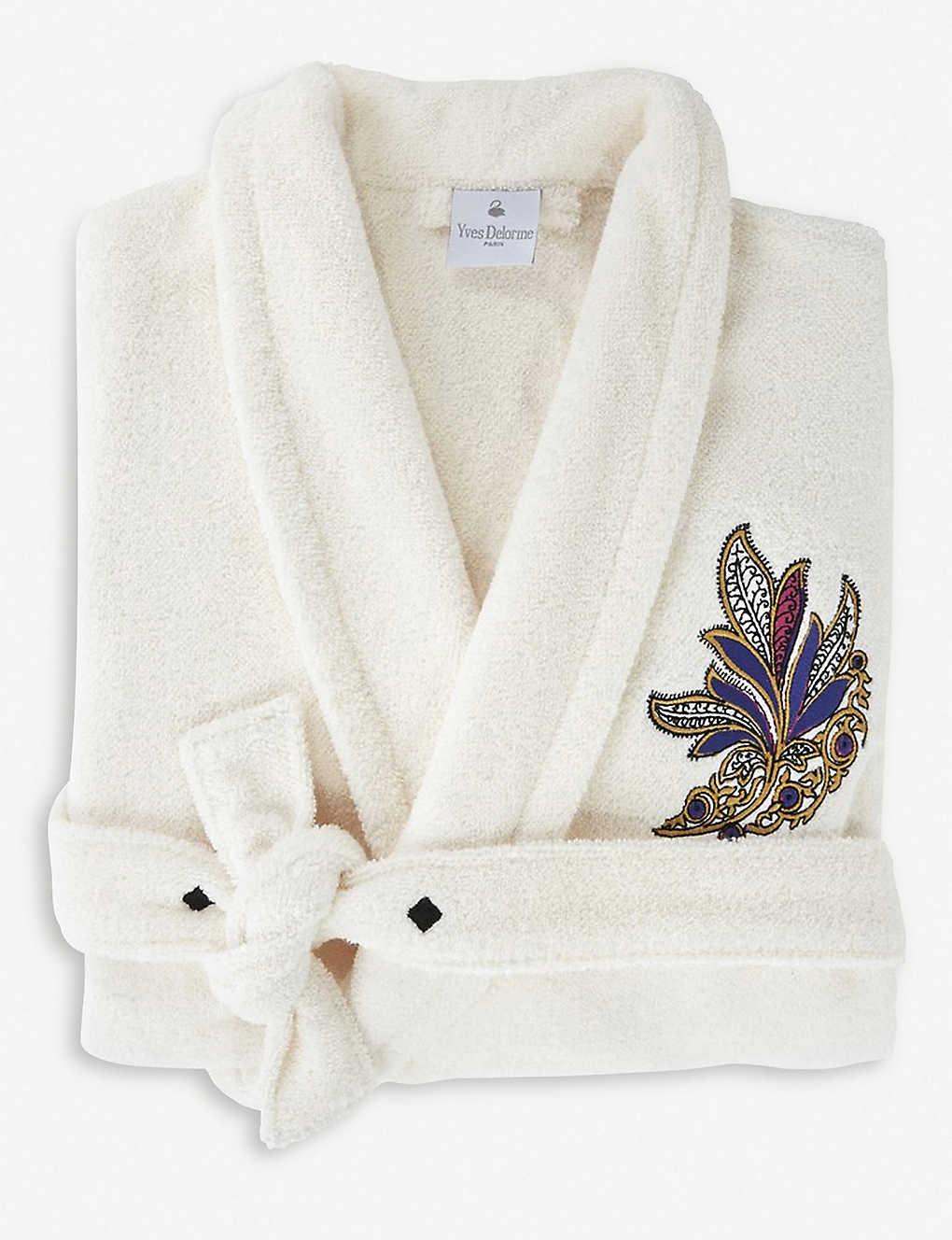 YVES DELORME - Parure cotton bath robe  08fdaccde
