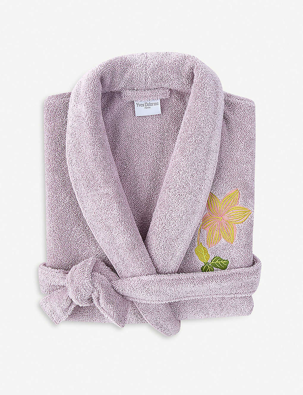 YVES DELORME - Clematis cotton-blend robe  762af3a67