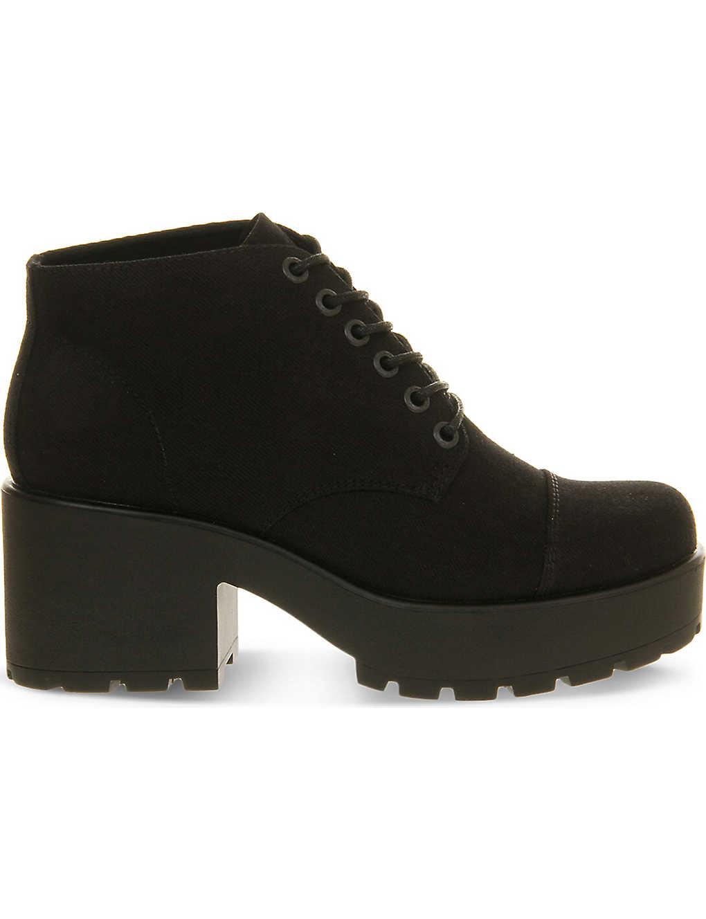 VAGABOND - Dioon canvas boots   Selfridges.com 21a6159df0