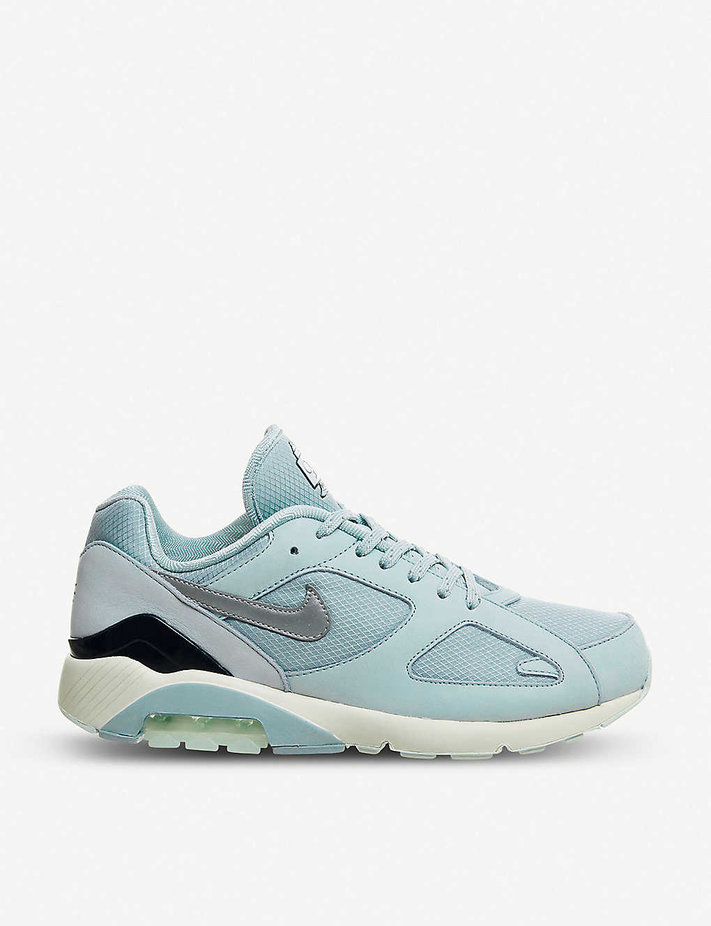 9399219a6 NIKE - Air Max 180 Fire mesh and leather trainers