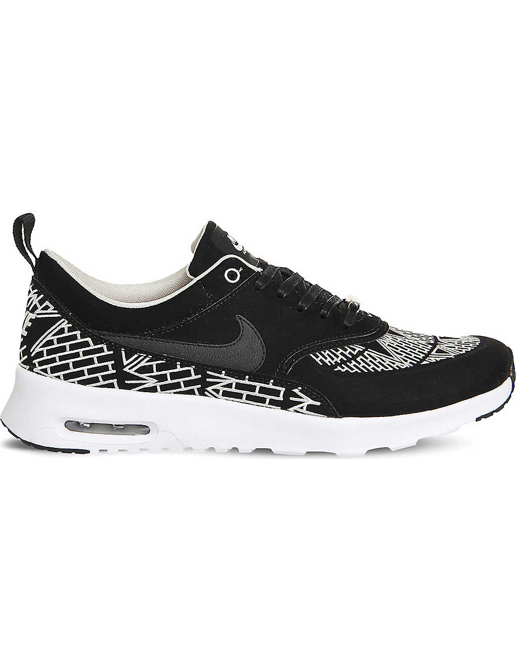 6189ea2a1215 NIKE - Air max thea suede and mesh trainers