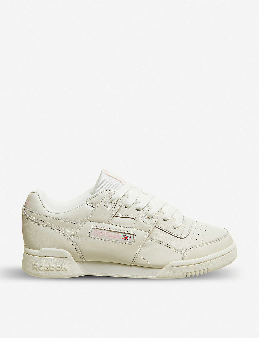 REEBOK - Workout Lo Plus leather trainers  6dd44364c