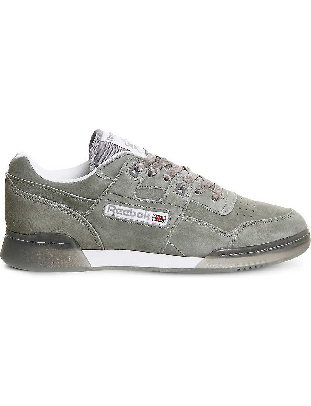 80d36d5391c6cd REEBOK - Workout Plus suede sneakers
