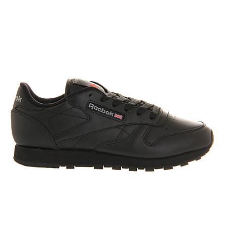 d7fda0e4e1c ... REEBOK Classic leather trainers (Black+leather. PreviousNext