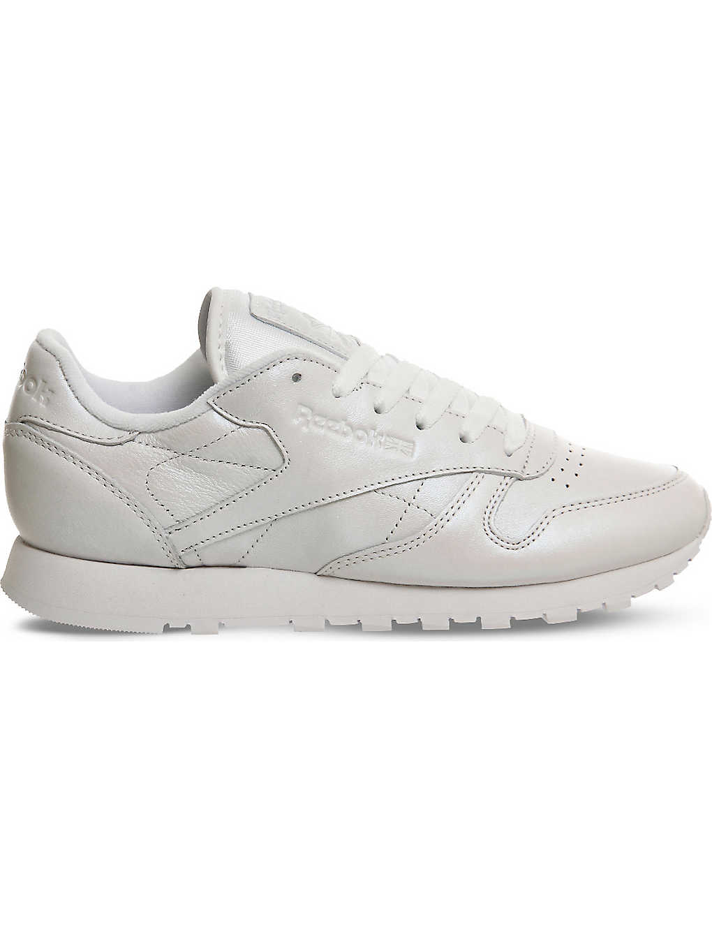 REEBOK - Classic pearlescent leather trainers  591bc50d8