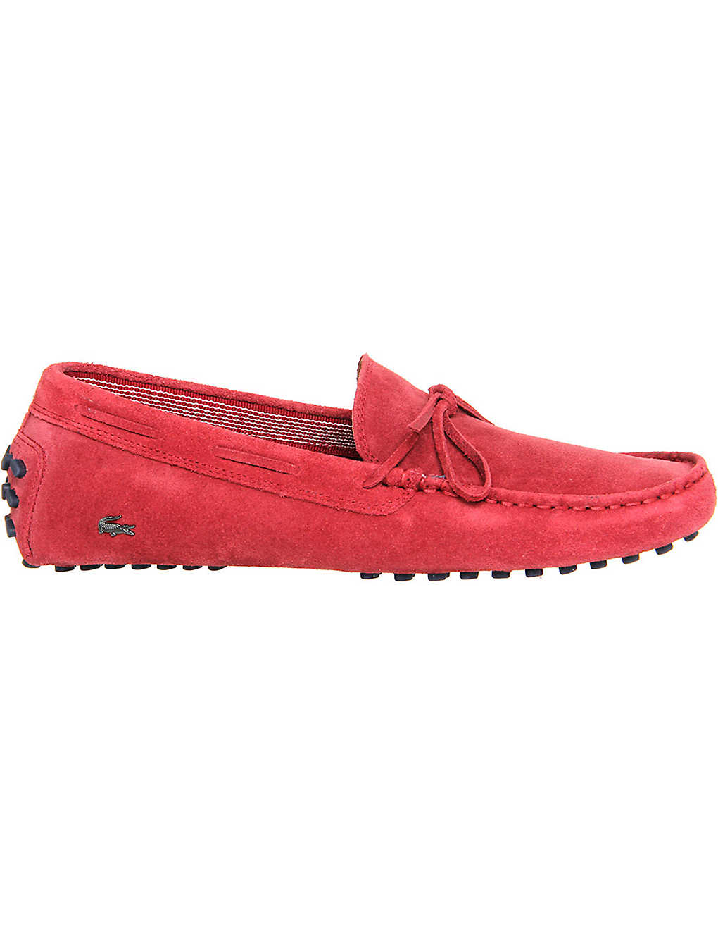 d18fea2ccc0f2 LACOSTE - Concours lace-up suede driving moccasins