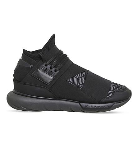 cd269c471abf4 ... ADIDAS Y3 Qasa high-top sneakers (Core+black+utility. PreviousNext
