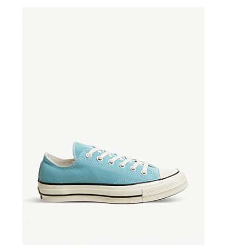 6b212e13d70f ... CONVERSE All Star Ox 70 s canvas low-top trainers  (Shoreline+blue+black. PreviousNext