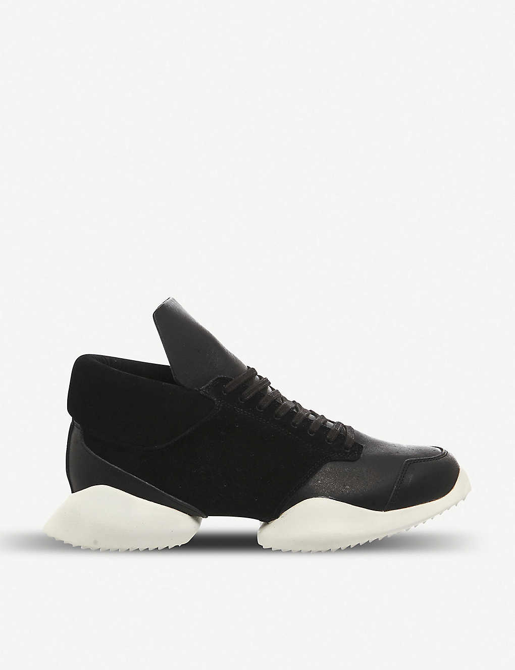 21bf7cba477 ADIDAS X RICK OWENS - Tech Runner leather trainers