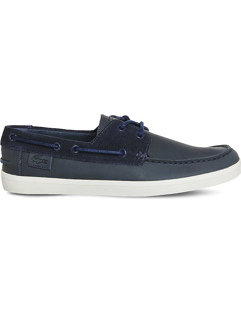 3815df471a92 LACOSTE - Keellson suede boat shoes
