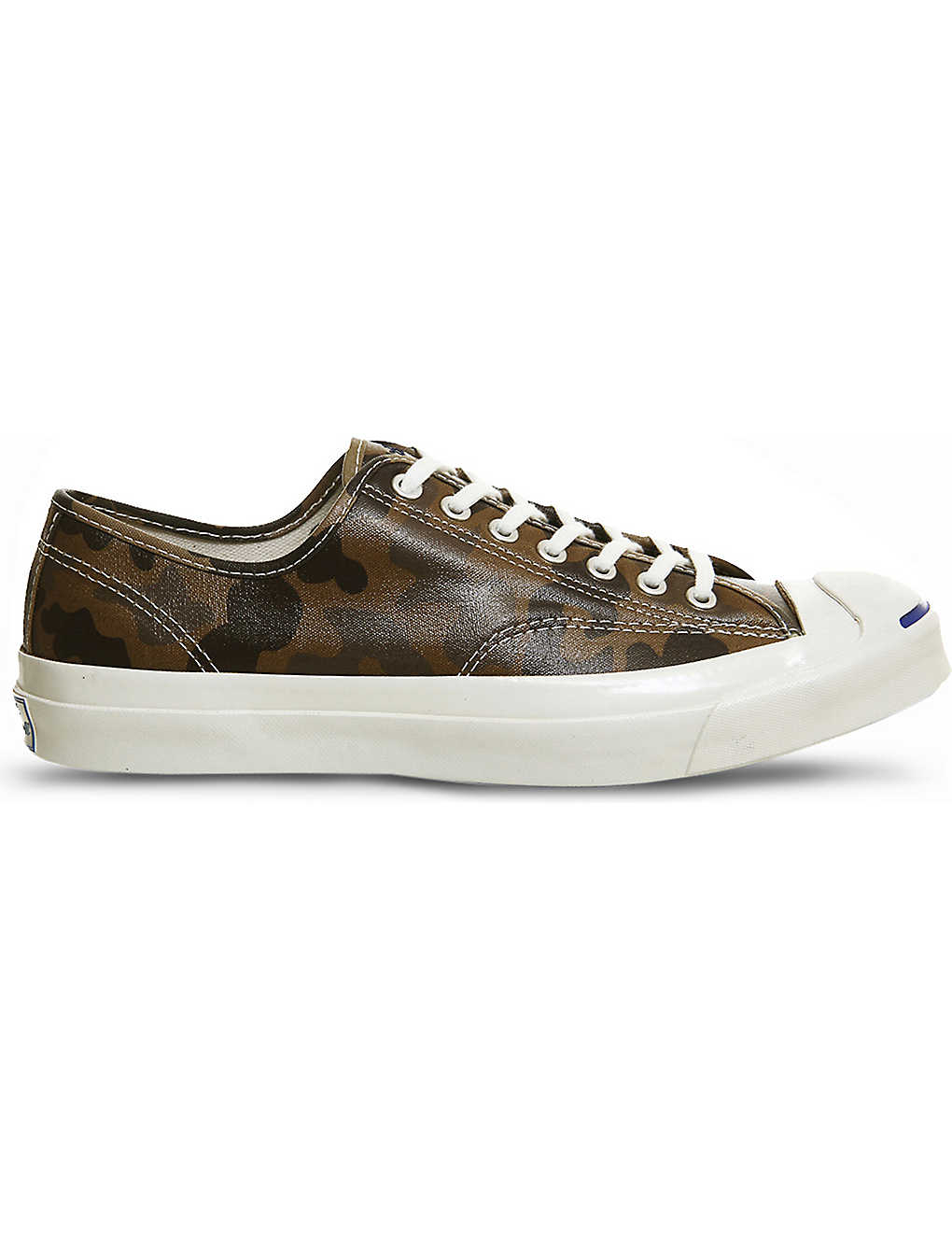 61c07d3103a4 CONVERSE - Jack Purcell leather trainers