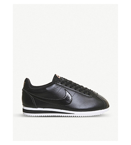 uk availability 5304f 3ee31 ... NIKE Classic Cortez OG trainers (Black+leather. PreviousNext