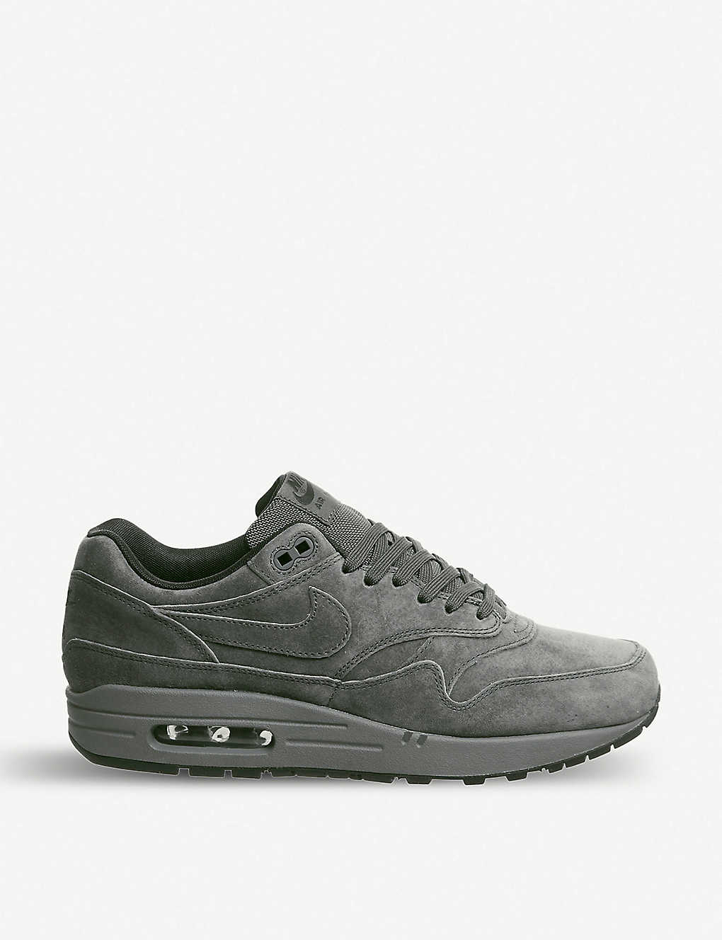 a26a94f514a3 NIKE - Air Max 1 leather trainers