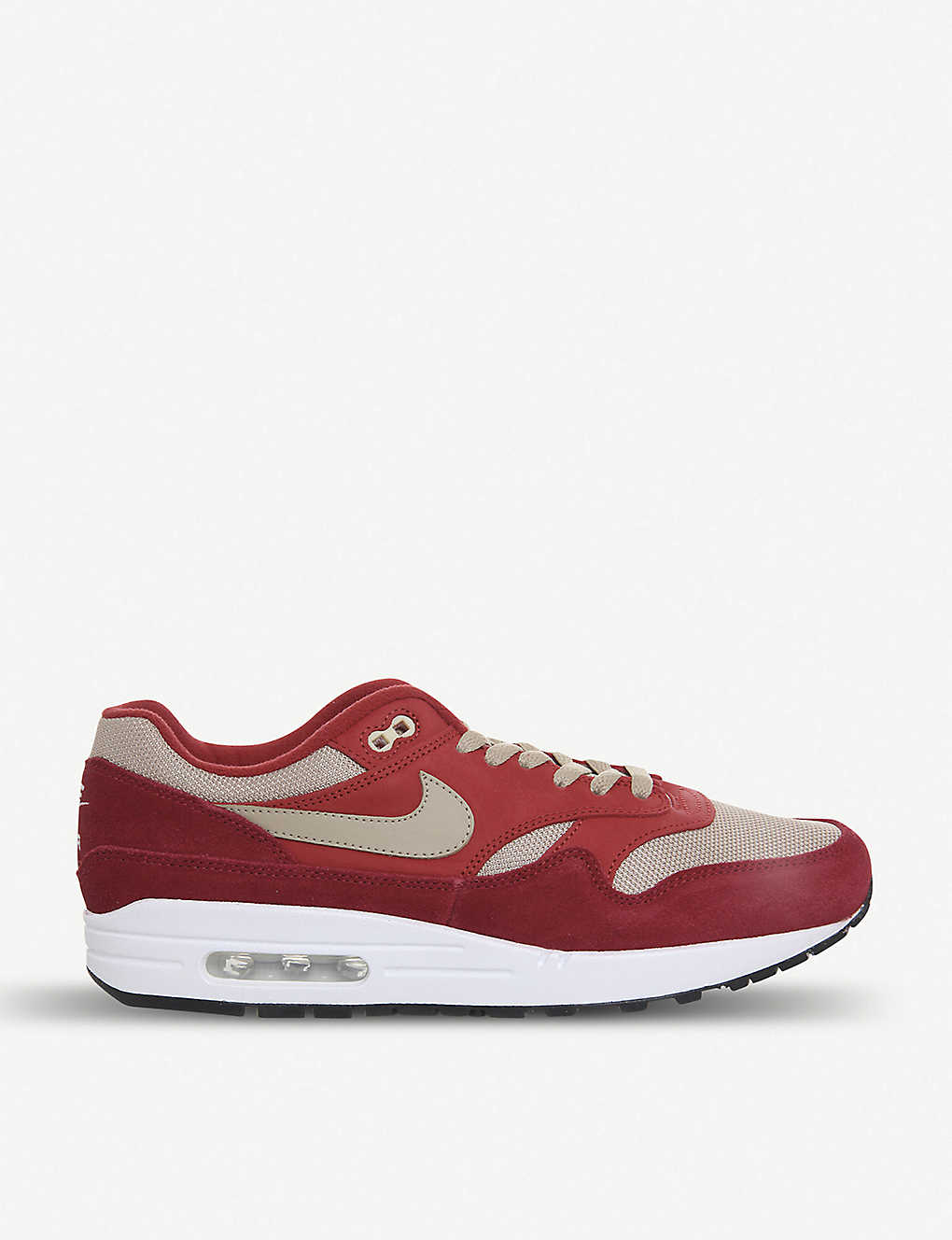 9318d67364f2 NIKE - Air Max 1 leather trainers