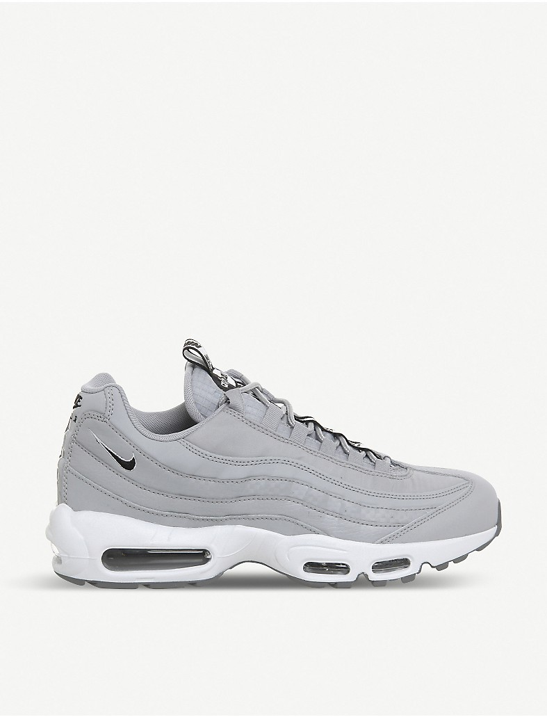 sale retailer 67b30 baf7d NIKE Air Max 95 leather trainers