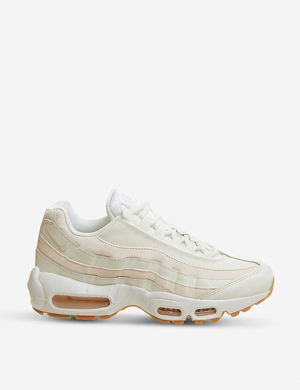 NIKE - Air Max 95 mixed leather trainers  903faf640