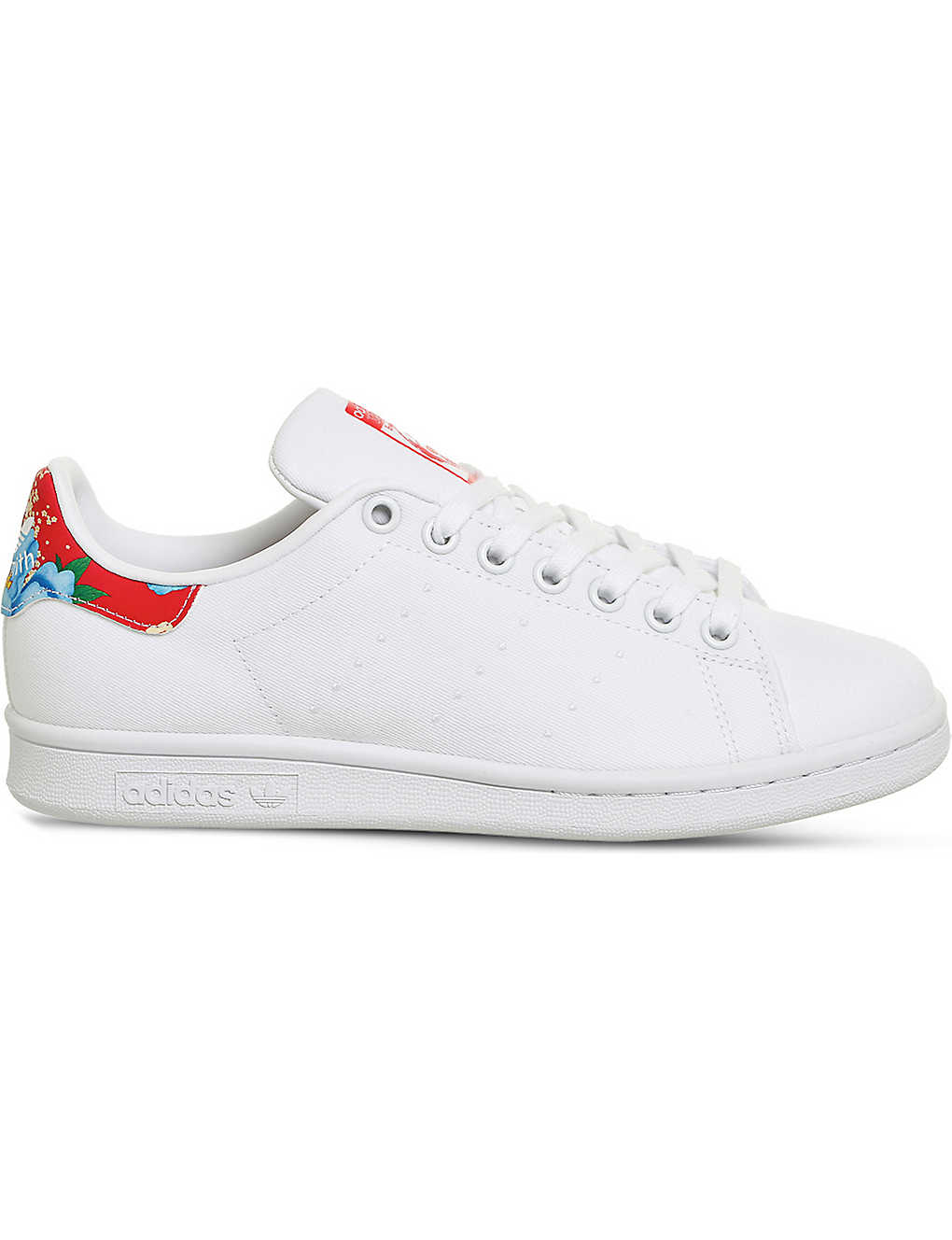 ADIDAS - Stan Smith floral canvas trainers  97c6b2a63