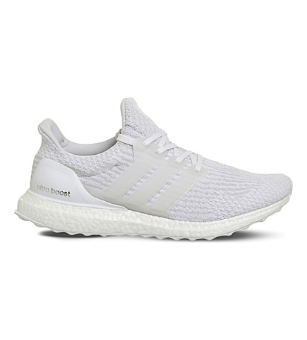 ... ADIDAS Ultra Boost Primeknit trainers (White+white+mono. PreviousNext 8b0e1a56b