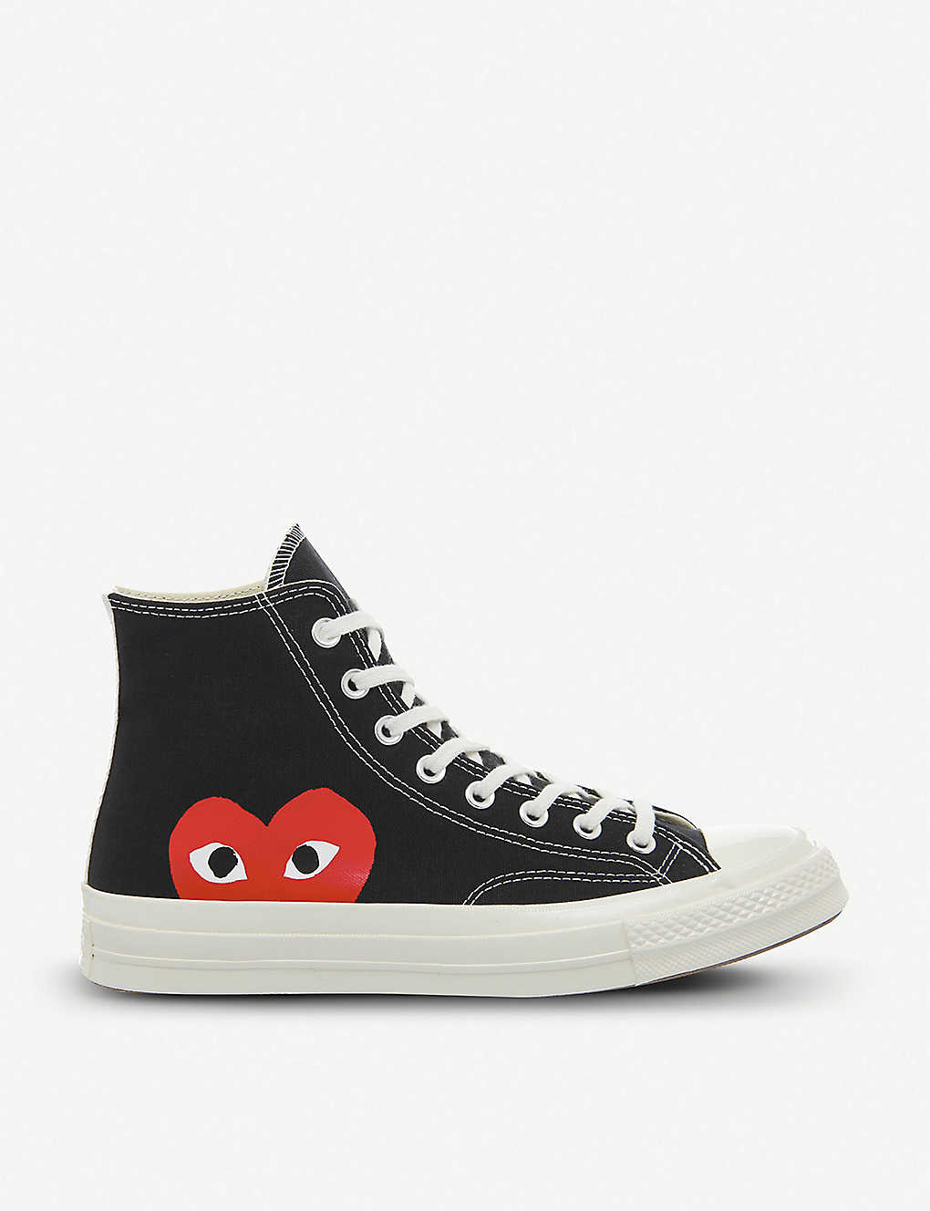 COMME DES GARCONS - Converse high-top 70s x play cdg trainers ... bef48bb91