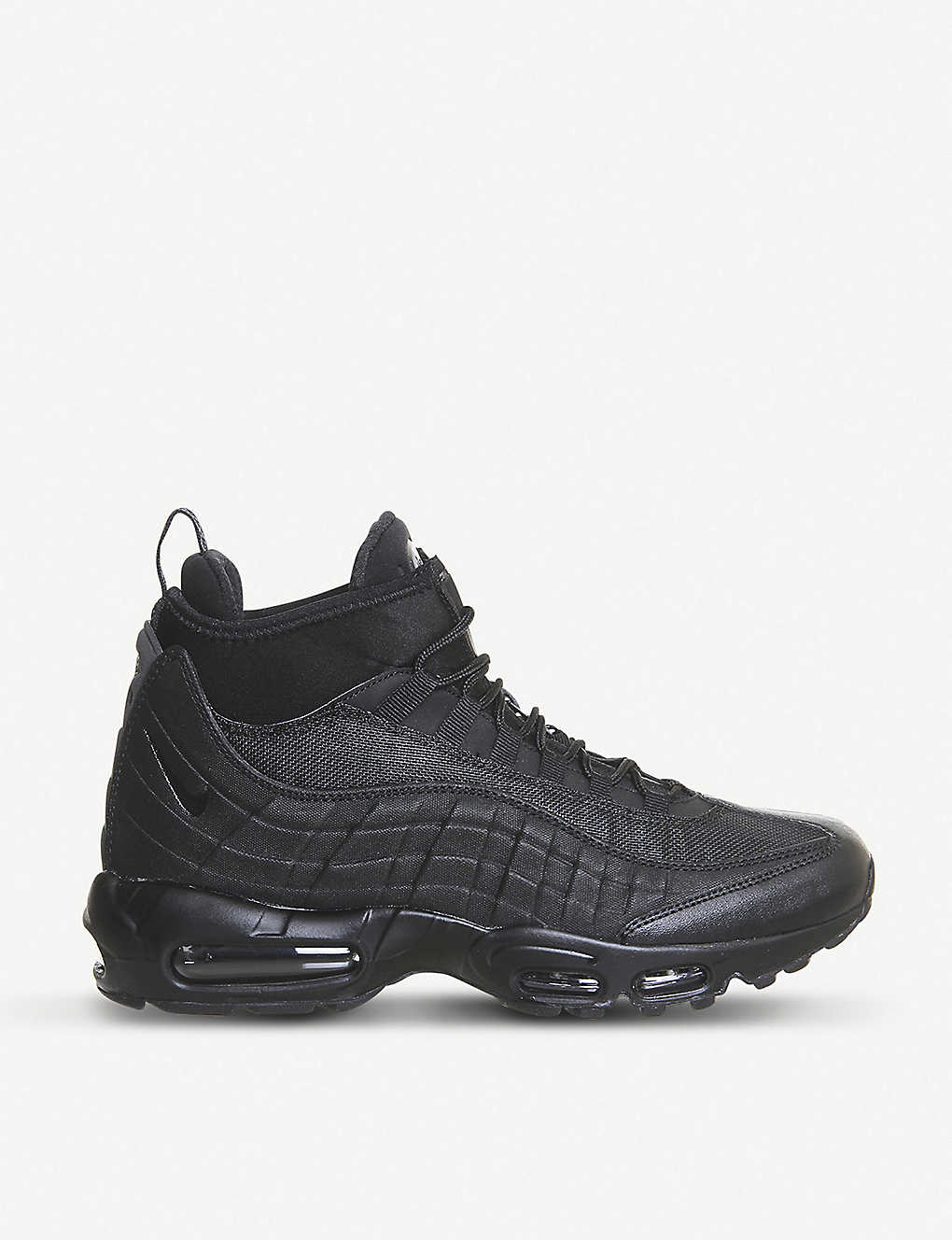 NIKE - Air Max 95 SneakerBoot leather mid-top trainers  3efac2dcb4fa