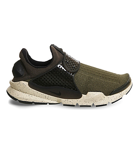 64cbc755cfd ... NIKE Sock Dart knitted trainers (Cargo+khaki+black. PreviousNext