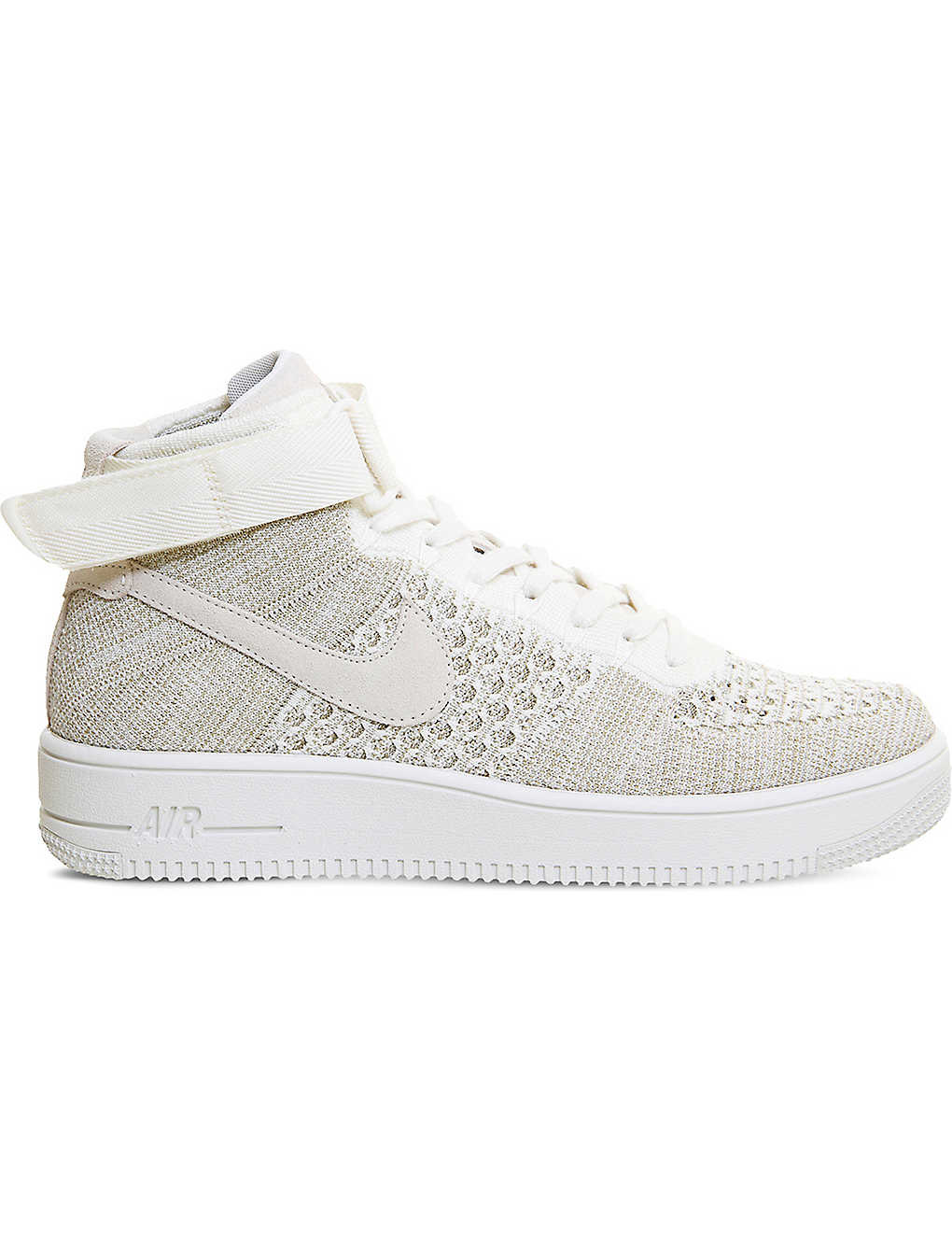 a50c048692887 NIKE - Air Force 1 flyknit mid-top trainers