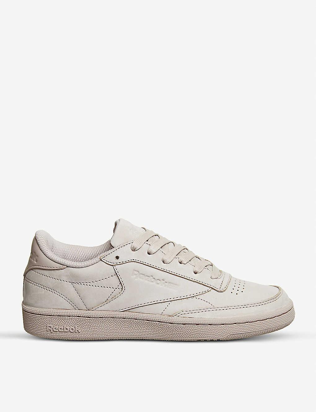 d58e53da0033 REEBOK - Club C 85 low-top leather trainers